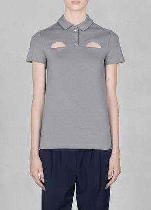 Оригинальная футболка-поло от бренда & other stories разм. 34, 36, 42