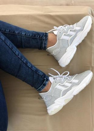 Nike шикарные женские кроссовки найк серый цвет (36-40)💜