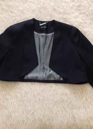 Укорочённый пиджак, нарядный
