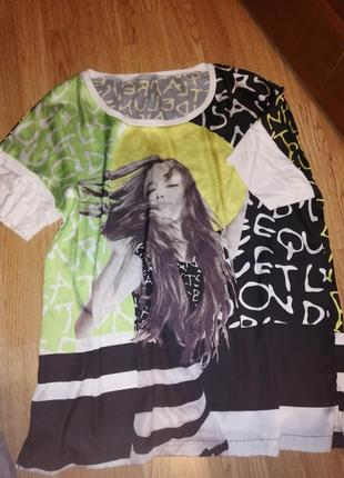 Стильная футболка блуза