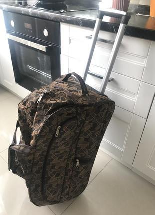 Сумка-чемодан, дорожная большая сумка, сумка на колёсах