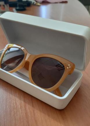 Фирменные очки polaroid wayfarer