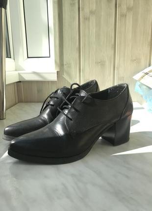 Изящные осенние туфли