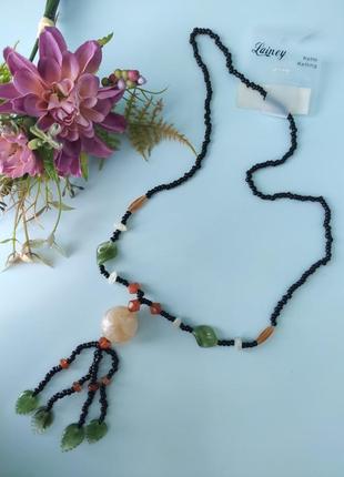 Винтажные бусы, ожерелье lainey германия