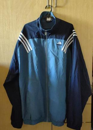 Олдскульная олимпийка adidas climacool (куртка, ветровка)