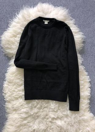 Вязаный шерстяной шерсть свитер кофта реглан в обтяжку
