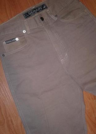 Genjury брюки бежевые вельветовые  w29