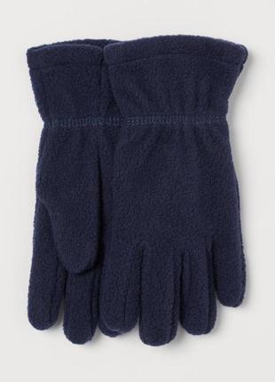 Флисовые перчатки h&m