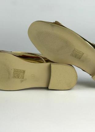 Модные золотистые туфли с бахромой  sh1933095 asos2 фото