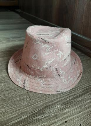 Летняя шляпа (челентанка )
