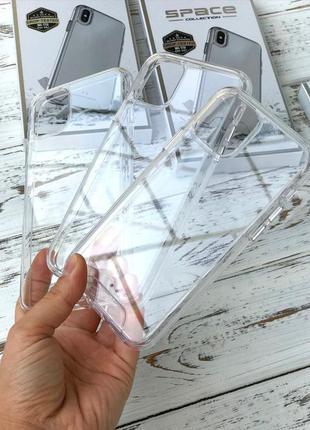 Чехол прозрачный для айфон case iphone 6/7/8/x/axe/xs/11/se2