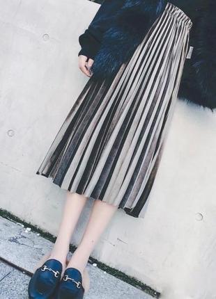 1609.    длинная бархатная юбка