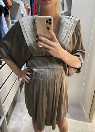 Платье шёлк 100 % stella mccartney