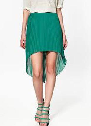 Плиссированная юбка от zara basic