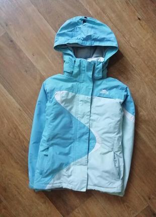 Зимняя термо, мембранная, лыжная куртка, курточка, пуховик