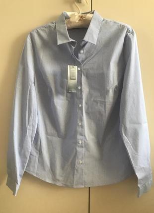 Классическая рубашка блузка m&s , p.14