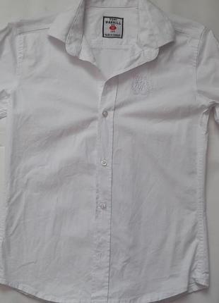 Белая рубашка tony wanhill рост140 турция