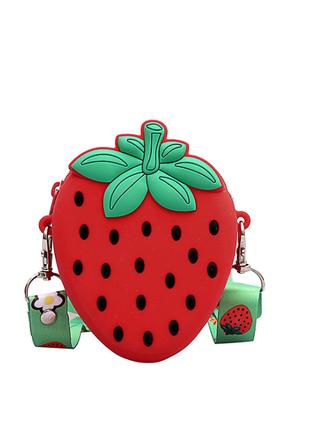Маленькая силиконовая сумочка кошелек для девочки