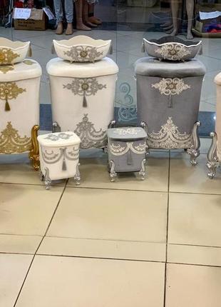Набор корзинок в ванную