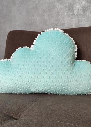 Гипоаллергенная плюшевая подушка облако