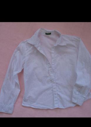 Белая рубашка для первоклашки)