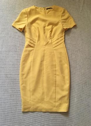 Красивое, строгое платье marks spenser, размер 10