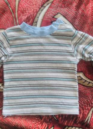 Реглан кофта на мальчика 2-4 года