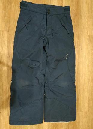 Лыжные зимние брюки wedze 8 лет