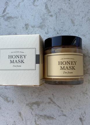 Маска на основе натурального меда i'm from honey mask 120 грамм