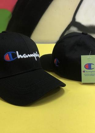 Кепка champion черная