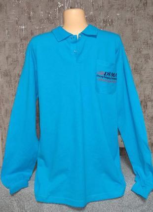 Мужская футболка поло xl размер с длинным рукавом кофта