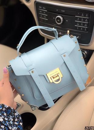 Женская кожаная сумка в стиле michael kors люкс качество