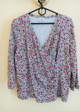 Батал большой размер стильная блузка блузочка блуза натуральная