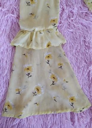 Нежная блузка с актуальными рукавами2 фото