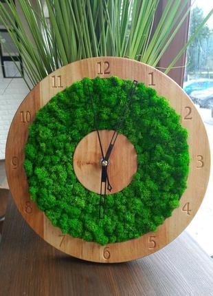 Дерев'яний  годинник