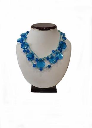 Ожерелье  лагуна 2