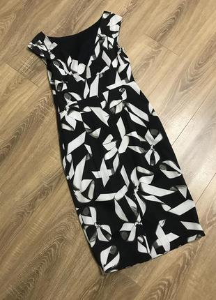 Элегантное платье по фигуре карандаш karen mullen  36р