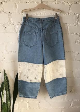 Мега крутые джинсовые кюлоты