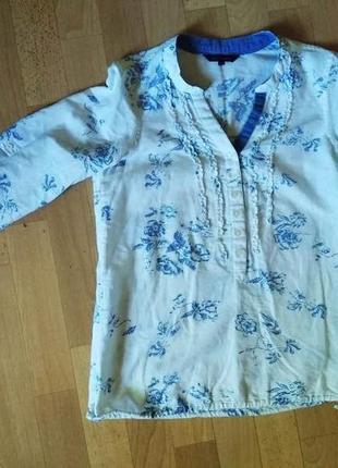 Льняная рубашка tommy hilfiger