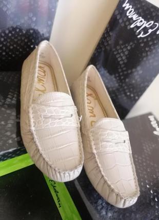 Туфли мокасины кожаные sam edelman 2020
