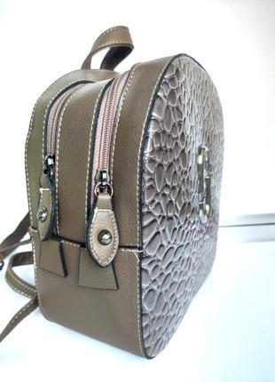 Новинка! рюкзачок цвета хаки для стильной леди!