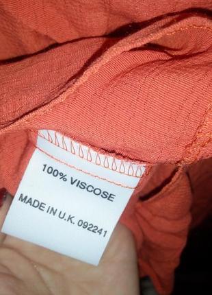 Вискоза блуза на пуговицах размер xl5 фото