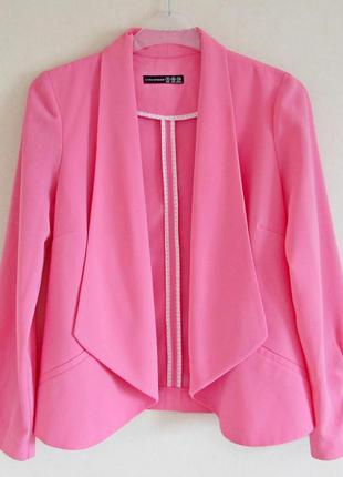 Розовый летний жакет пиджак от atmosphere