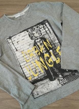 Реглан, футболка, кофта для мальчика, как новая 140/146