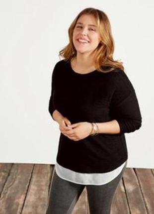 Стильный пуловер, блуза 60-62, 62-64