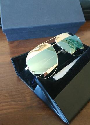 Dior split. солнцезащитные очки. оригинал.