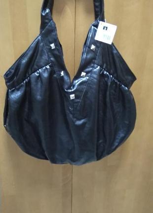 Шикарная кожанная сумка