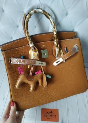 Стильная сумка в стиле birkin,  hermes!