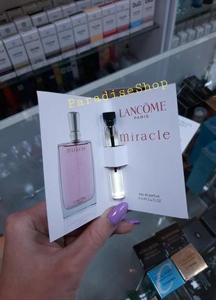 Пробники / духи / парфюм / парфуми жіночі lancome miracle !