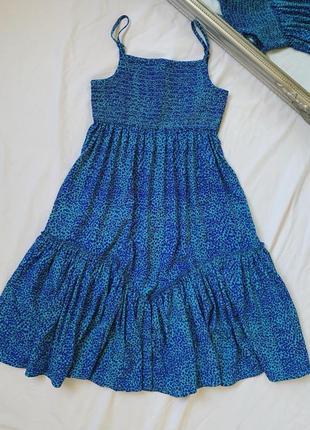 Летняя распродажа! 180 грн платье жатка сарафан на бретелях